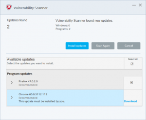 mcafee-antivirus-plus-vulnerability-scan