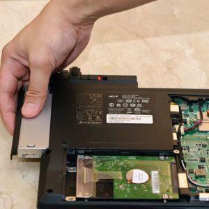 Αντικατάσταση μονάδας DVD για Laptop