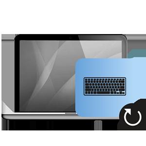 Αντικατάσταση πληκτρολογίου Macbook