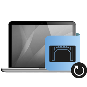 Αντικατάσταση trackpad Macbook