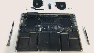 Καθαρισμός Macbook
