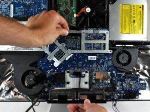 Επισκευή - Αντικατάσταση μητρικής πλακέτας iMac
