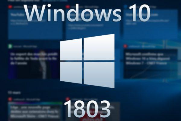 Windows 10 Update 1803