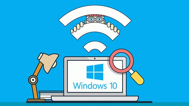 κωδικούς WiFi στα Windows