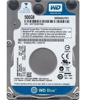 Western Digital Blue 500GB pcsecurity