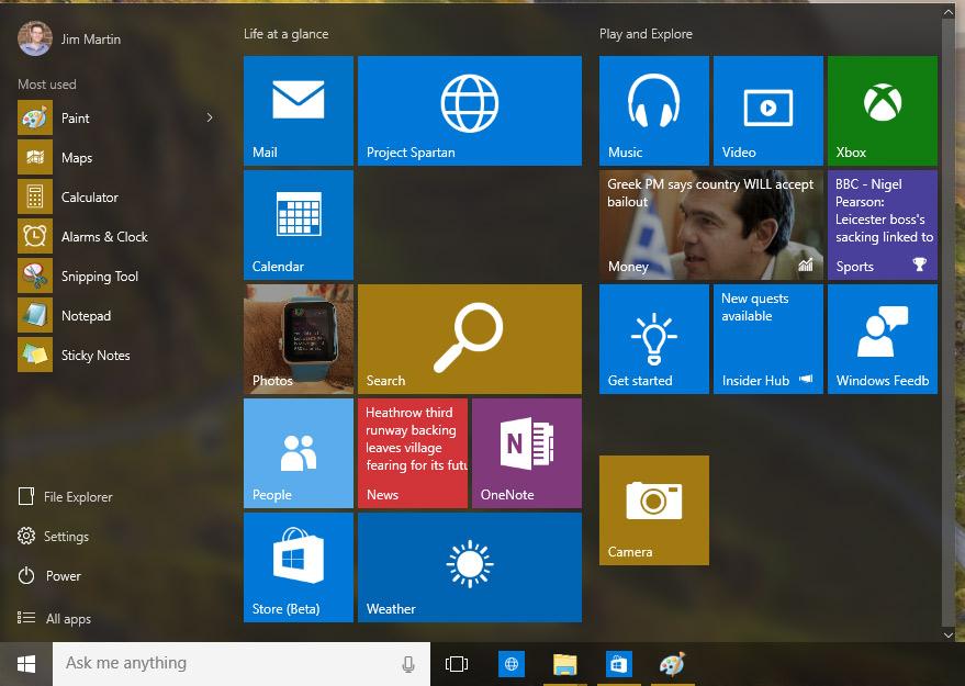 windows 10 start menu greek pcsecurity