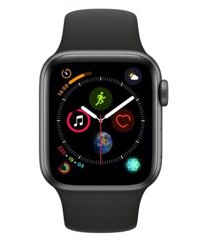 Apple Watch Series 4 40mm with Black Sport