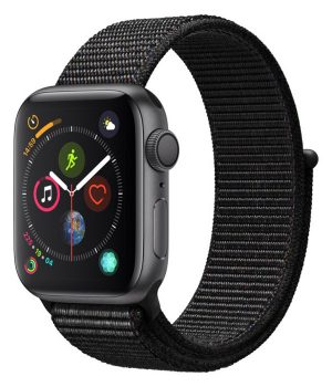 Apple Watch Series 4 40mm with Black Sport Loop