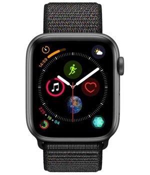 Apple Watch Series 4 40mm with Black Sport Loop pcsecurity