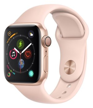 Apple Watch Series 4 40mm with Pink Sand Sport Band