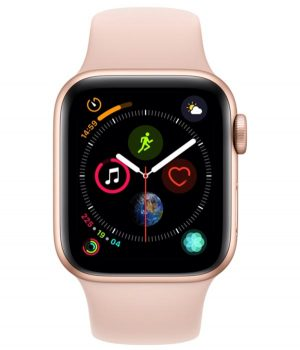 Apple Watch Series 4 40mm with Pink Sand Sport Band pcsecurity
