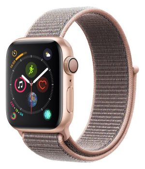 Apple Watch Series 4 40mm with Pink Sand Sport Loop