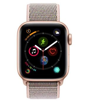 Apple Watch Series 4 40mm with Pink Sand Sport Loop pcsecurity