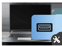 επισκευή θύρας USB