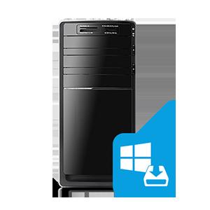 εγκατάσταση λειτουργικού windows desktop pcsecurity