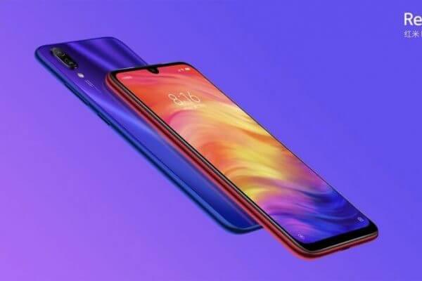 Xiaomi Redmi Note 7 release